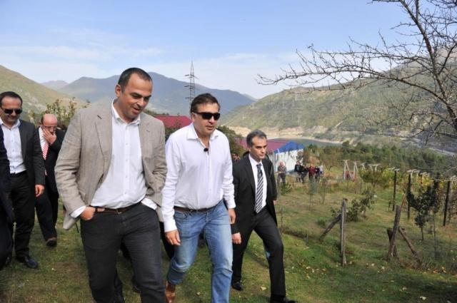 Gürcistan Devlet Başkanı Mikheil Saakaşvili Borçka'da