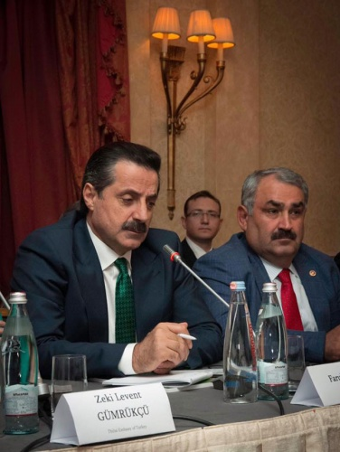 Gıda, Tarım ve Hayvancılık Bakanı Faruk Çelik Gürcistan'da