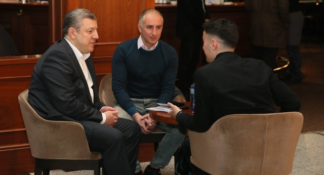 Gürcistan Başbakanı Kvirikaşvili İlk Vizesiz Seyahate Çıktı