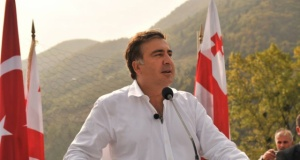 Gürcistan Devlet Başkanı Mikheil Saakaşvili Macahel'de