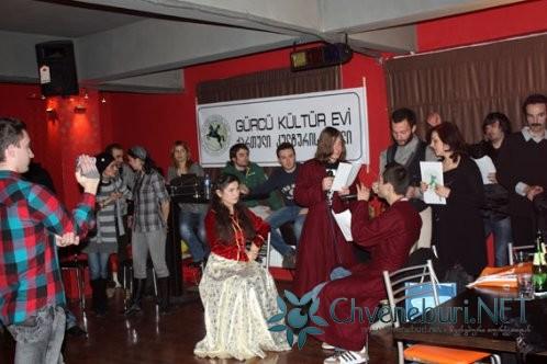 Gürcü Kültür Evi Aylık Buluşma'sını Yaptı (Mart 2011)