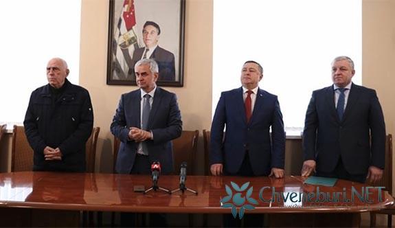 İşgal Altındaki Abhazya'nın Oçamchira Bölgesinin Yeni Başkanı Atandı