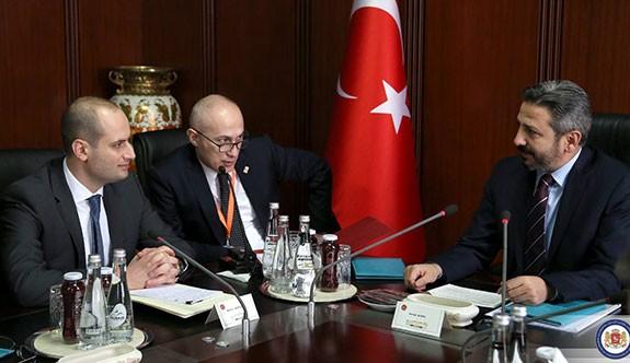 Gürcistan Dışişleri Bakanı Mikheil Canelidze TBMM'yi Ziyaret Etti