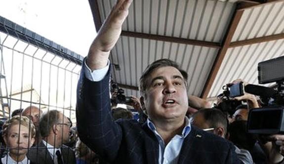 Saakaşvili, Ukrayna'ya Geri Döndü