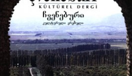 Çveneburi Kültürel Dergi Sayı : 54-55