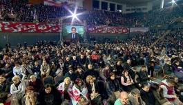 Saakaşvili'nin Partisi'nde...