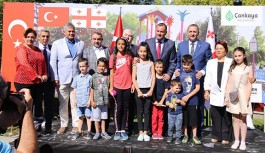 Ankara'da Tiflis Parkı Açıldı