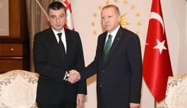 Cumhurbaşkanı Erdoğan, Gürcistan Başbakanı Giorgi Gakharia İle Görüştü