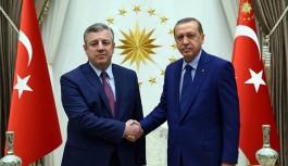 Cumhurbaşkanı Erdoğan, Gürcistan Başbakanı Kvirikaşvili'yi Kabul Etti