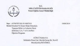Gürcüce Seçmeli Dersler İçin Sınıflar Açılmaya Başladı