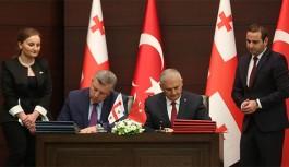 Türkiye ile Gürcistan Arasında 6 Anlaşma İmzalandı