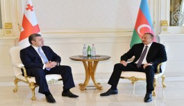 Başbakan Giorgi Kvirikaşvili Bakü'de