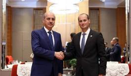 Gürcistan Kültür Bakanı Mikheil Giorgadze, Kültür ve Turizm Bakanı Numan Kurtulmuş İle Bir Araya Geldi