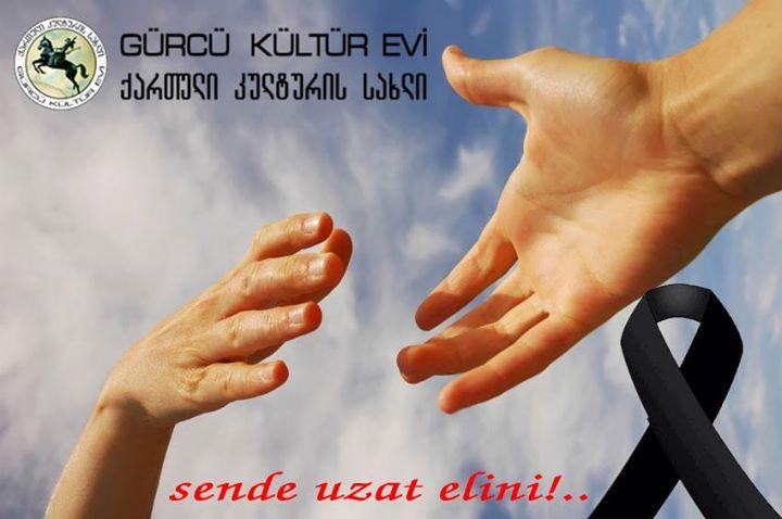 Tiflis'te Sel Felaketi Yardım