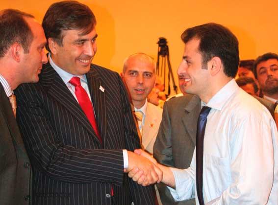 Grigol Mgaloblişvili-Miheil Saakaşvili-Erdal Küçük