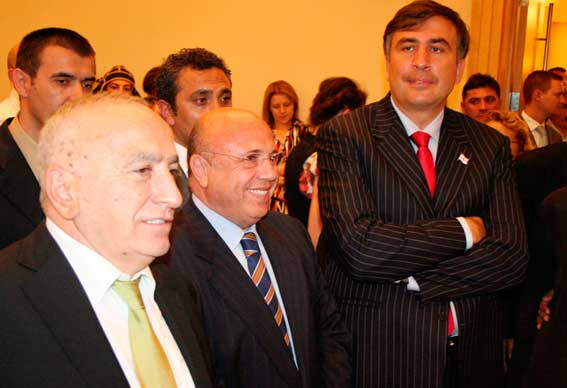 İsmet Acar-Erol Aksoy-Miheil Saakaşvili