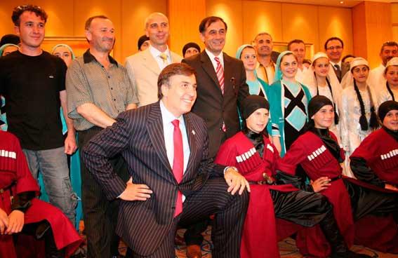 Miheil Saakaşvili - İnegöl Kafkas Folklor Derneği, Folklor Topluluğu