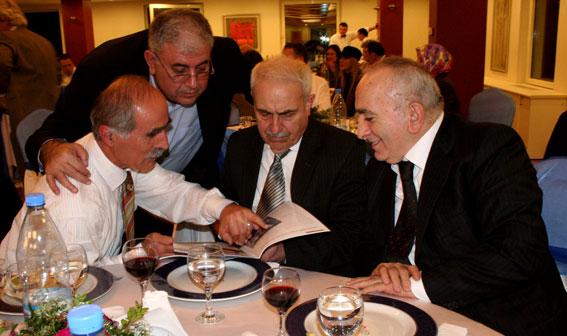 Türk-Gürcü Vakfı Gecesi (Salih Yıldız-Ali İhsan Akıskalıoğlu-İulon Gagoşidze-İsmet Acar)