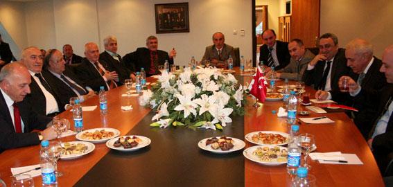Türk-Gürcü Vakfı'ndaki Görüşme