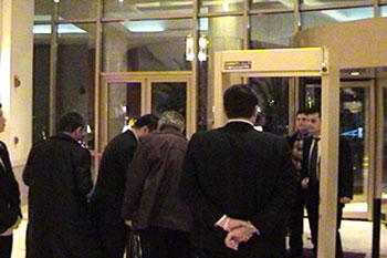 Konuklar Conrad Otele Geliyorlar  ტუმრები სასტუმრო ქონრადში მოდიან