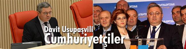 Davit Usupaşvili, Cumhuriyetçeiler Partisi