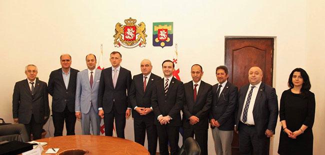 DEİK Heyetinin Batum Ziyareti
