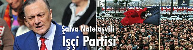 Şalva Natelaşvili, İşçi Partisi