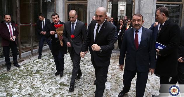 Gürcistan Dışişleri Bakanı Mikheil Canelidze