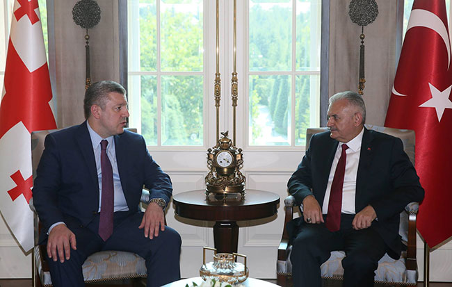 Gürcistan Başbakanı Giorgi Kvirikaşvili Ankara'da