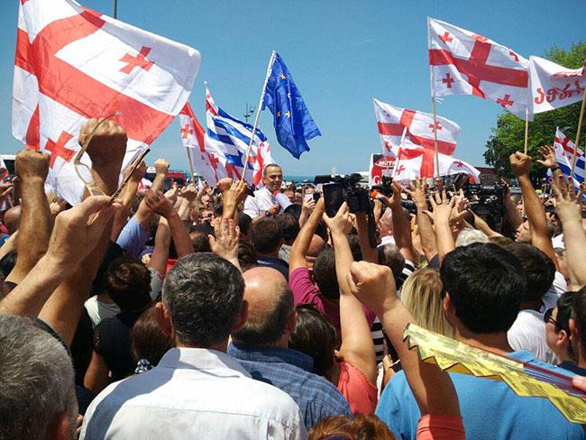 Levan Varşalomdize Tekrar Politikada