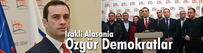 İrakli Alasania, Özgür Demokratlar