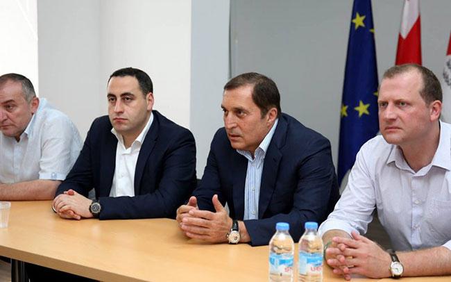 Gürcistan Seçimlerinde Yeni Blok