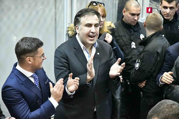 Tekrar Gözaltına Alınan Saakaşvili Serbest Bırakıldı