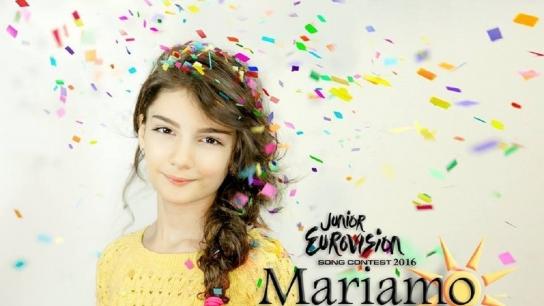 Junior Eurovision 2016 Birincisi Mariam Mamadaşvili