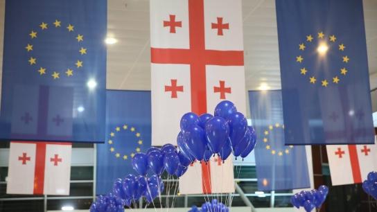 Gürcistan'da Schengen Vizesiz Sevinci