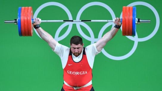 Rio Olimpiyatlarında Gürcistan Halter'de Dünya Rekoru Kırdı