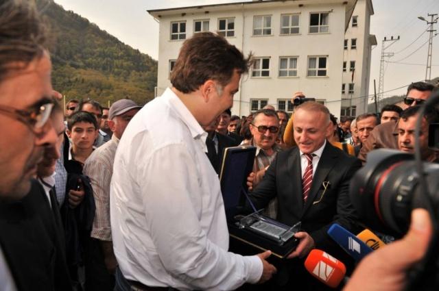 საქართველოს პრეზიდენტი, მიხეილ სააკაშვილი, მაჭახელს ესტუმრა