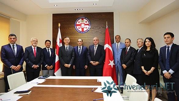 საქართველოს ეკონომიკისა და მდგრადი განვითარების მინისტრი თურქეთის უმსხვილესი ბიზნესგაერთიანების  წარმომადგენლებს შეხვდა
